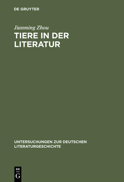Tiere in der Literatur - Coverbild