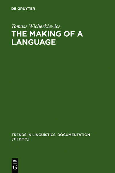 The Making of a Language - Coverbild