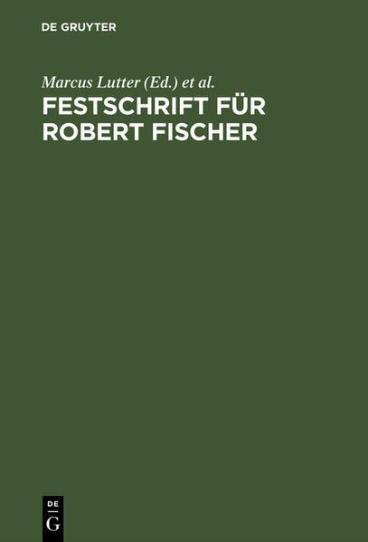 Festschrift für Robert Fischer - Coverbild