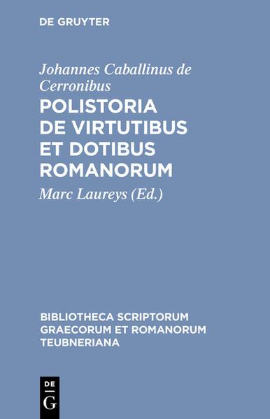 Polistoria de virtutibus et dotibus Romanorum - Coverbild