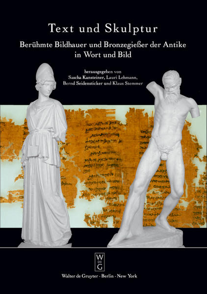Text und Skulptur - Coverbild
