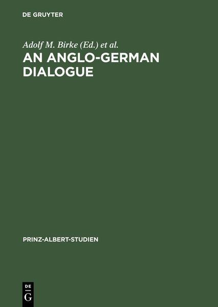 An Anglo-German Dialogue - Coverbild