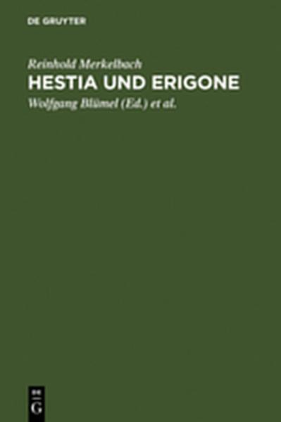 Hestia und Erigone - Coverbild
