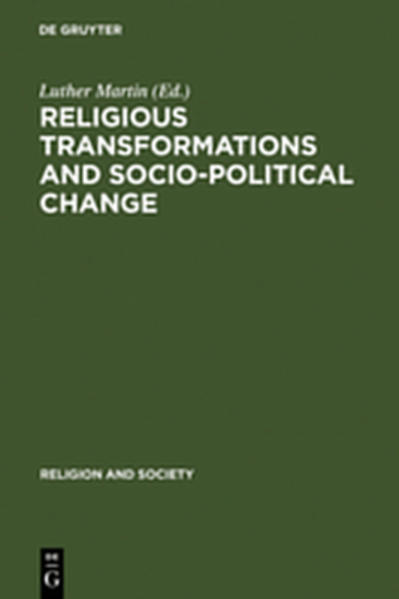Religious Transformations and Socio-Political Change - Coverbild