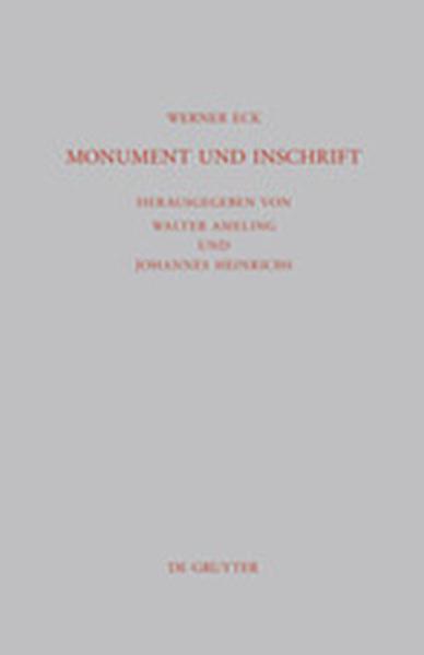 Monument und Inschrift - Coverbild