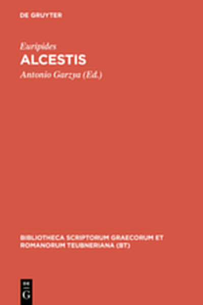 Alcestis - Coverbild