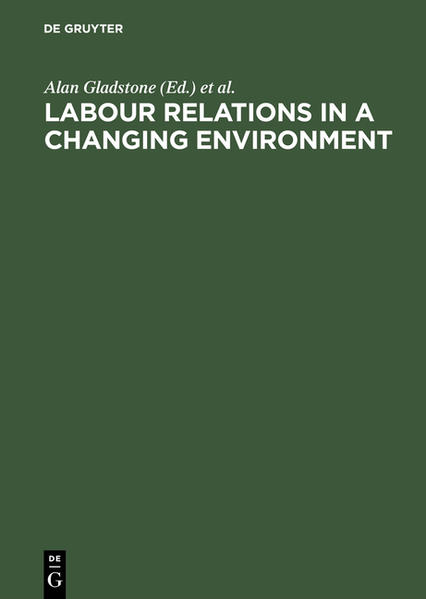 Labour Relations in a Changing Environment - Coverbild