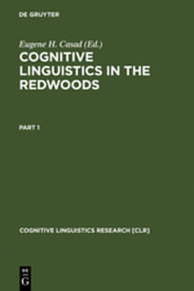 Cognitive Linguistics in the Redwoods - Coverbild