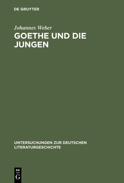 Goethe und die Jungen - Coverbild