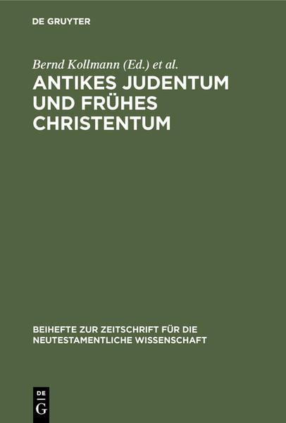 Antikes Judentum und Frühes Christentum - Coverbild