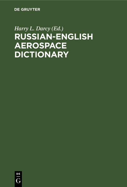 Russian-English Aerospace Dictionary - Coverbild