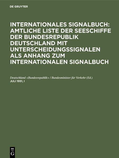 Signalbuch - Coverbild