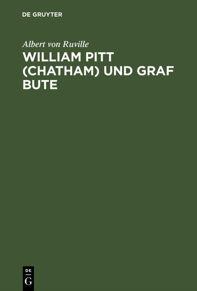William Pitt (Chatham) und Graf Bute - Coverbild