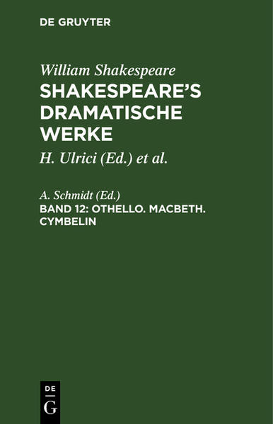Othello. Macbeth. Cymbelin - Coverbild