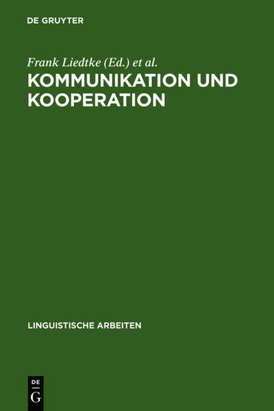 Kommunikation und Kooperation - Coverbild