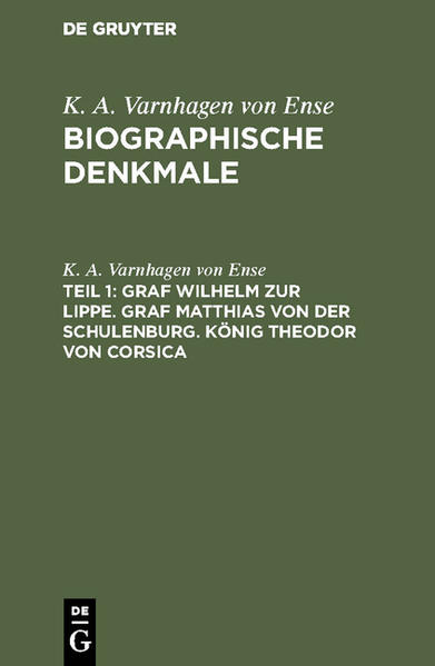Biographische Denkmale - Coverbild