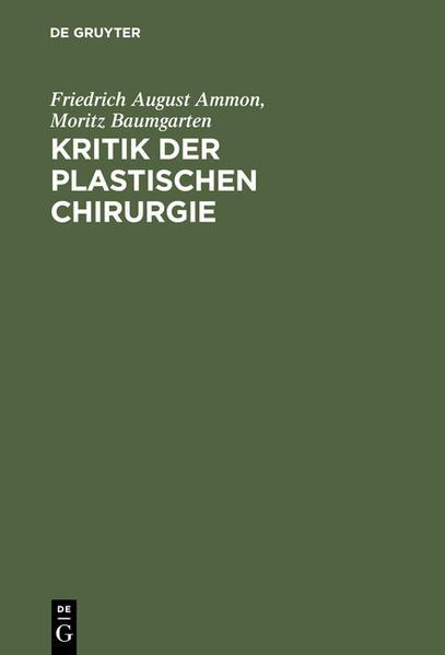 Kritik der plastischen Chirurgie - Coverbild