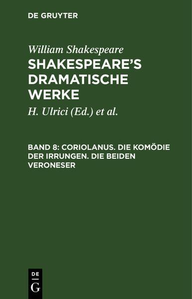 Shakespeare's dramatische Werke - Coverbild