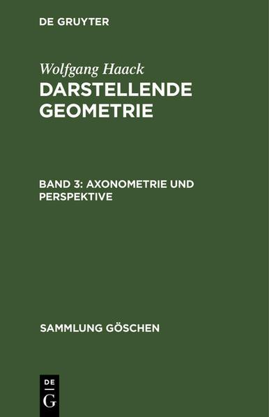 Axonometrie und Perspektive - Coverbild