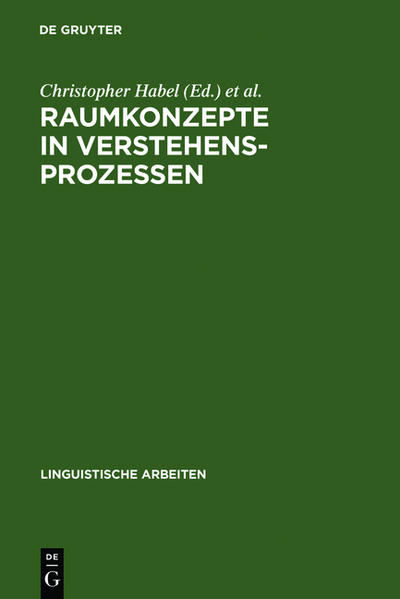 Raumkonzepte in Verstehensprozessen - Coverbild
