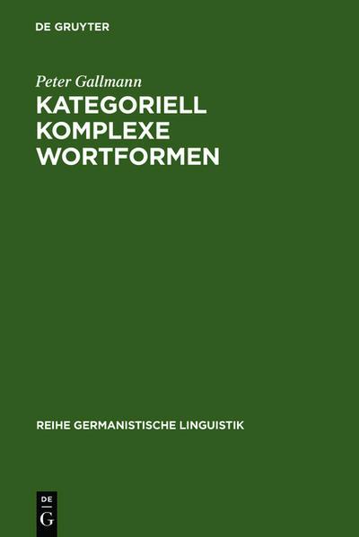 Kategoriell komplexe Wortformen - Coverbild
