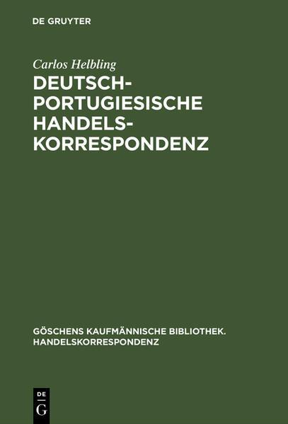 Deutsch-portugiesische Handelskorrespondenz - Coverbild