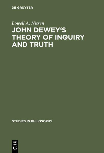 John Dewey's theory of inquiry and truth - Coverbild
