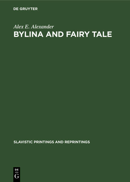 Bylina and fairy tale - Coverbild