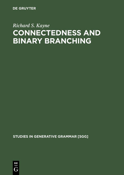 Connectedness and binary branching - Coverbild