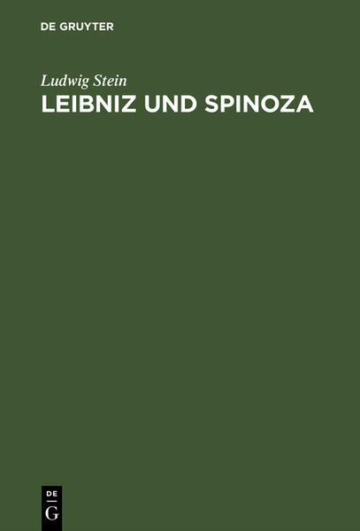 Leibniz und Spinoza - Coverbild