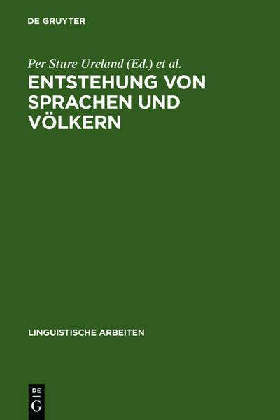 Entstehung von Sprachen und Völkern - Coverbild