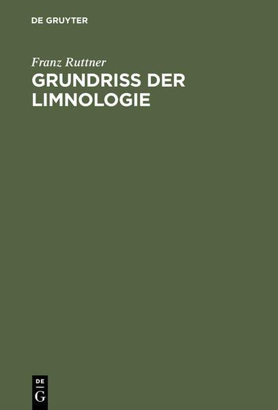 Grundriß der Limnologie - Coverbild