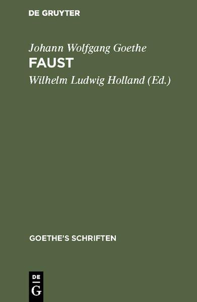 Goethe's Faust - Coverbild