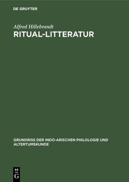 Ritual-Litteratur - Coverbild