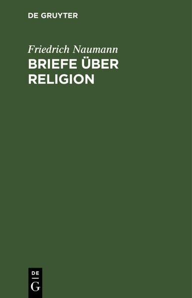 Briefe über Religion. Mit Nachwort 'nach 13 Jahren' - Coverbild