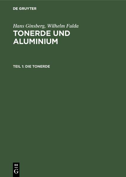 Tonerde und Aluminium - Coverbild