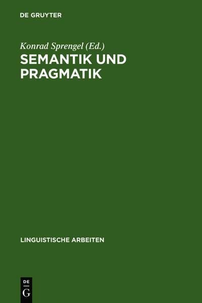 Semantik und Pragmatik - Coverbild