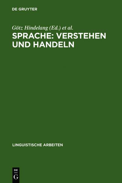 Sprache: Verstehen und Handeln - Coverbild