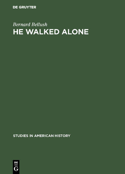 He walked alone - Coverbild