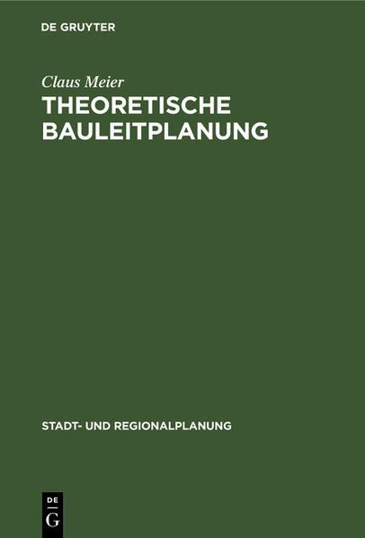 Theoretische Bauleitplanung - Coverbild