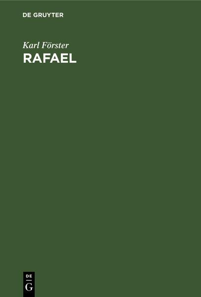 Rafael - Coverbild