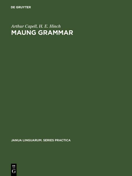 Maung grammar - Coverbild
