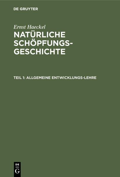 Allgemeine Entwicklungs-Lehre - Coverbild