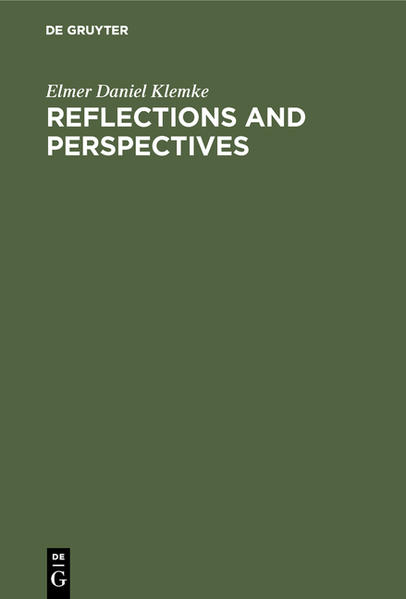 Reflections and perspectives - Coverbild