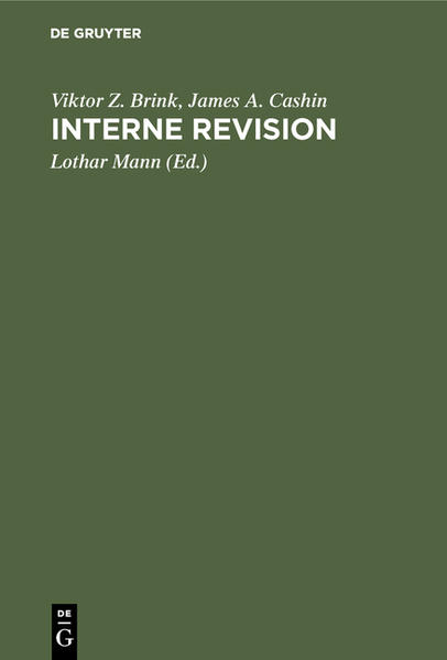 Interne Revision - Coverbild