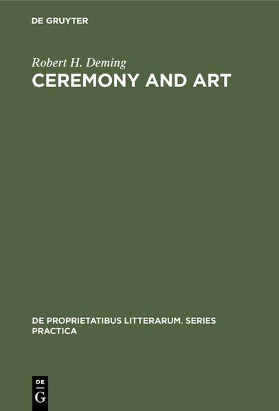 Ceremony and Art - Coverbild