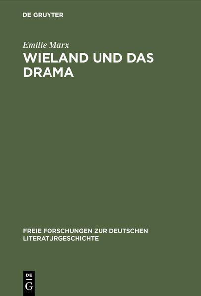 Wieland und das Drama - Coverbild