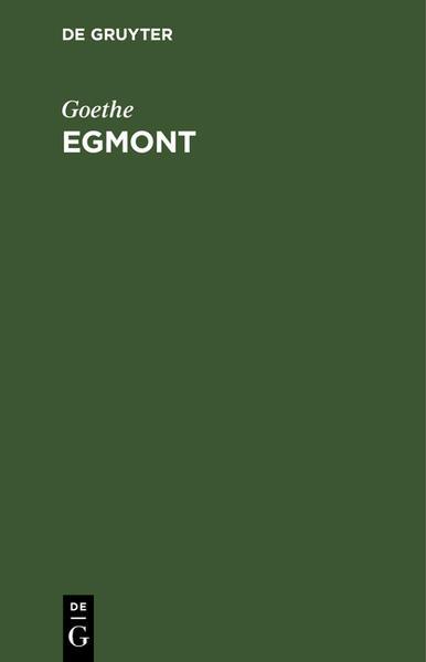 Egmont - Coverbild