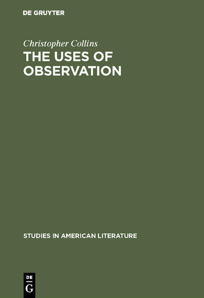The uses of observation - Coverbild