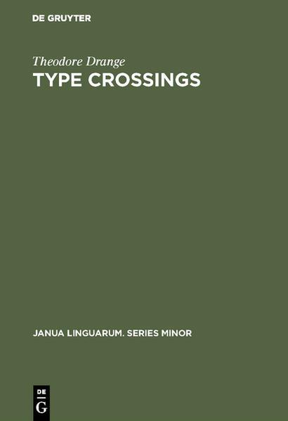 Type crossings - Coverbild